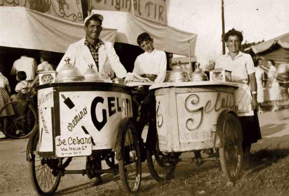 Breve historia del helado